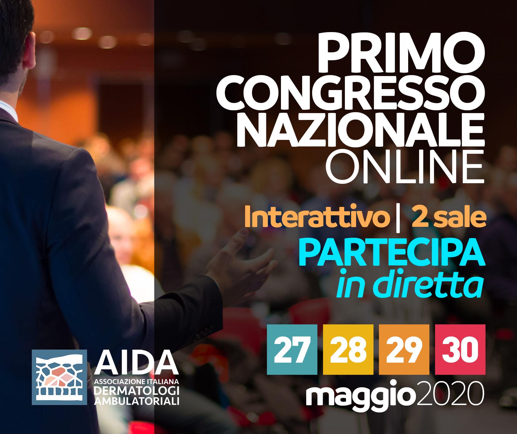Congresso Nazionale Online AIDA